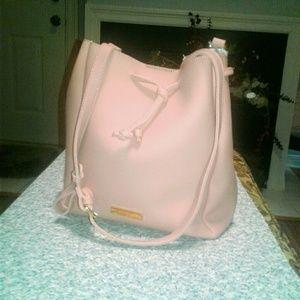 Katie Loxton blush pink purse